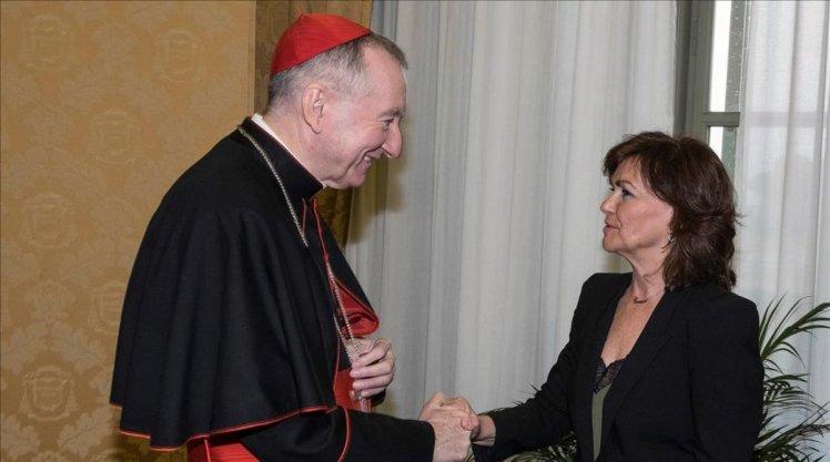 Carmen-Calvo-Vaticano